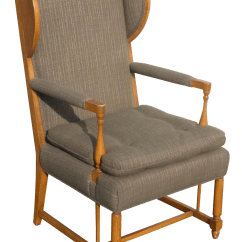 Country Style Wingback Chairs Compact High Chair 1970s Vintage French Accent Chairish For Sale