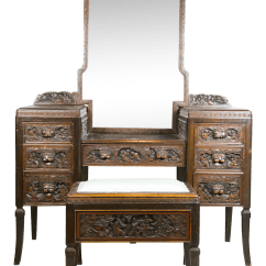 Antique Vanity Chair Christmas Stretch Covers Vintage Used Benches For Sale Chairish 1920 Chinese Apricot Wood Bench
