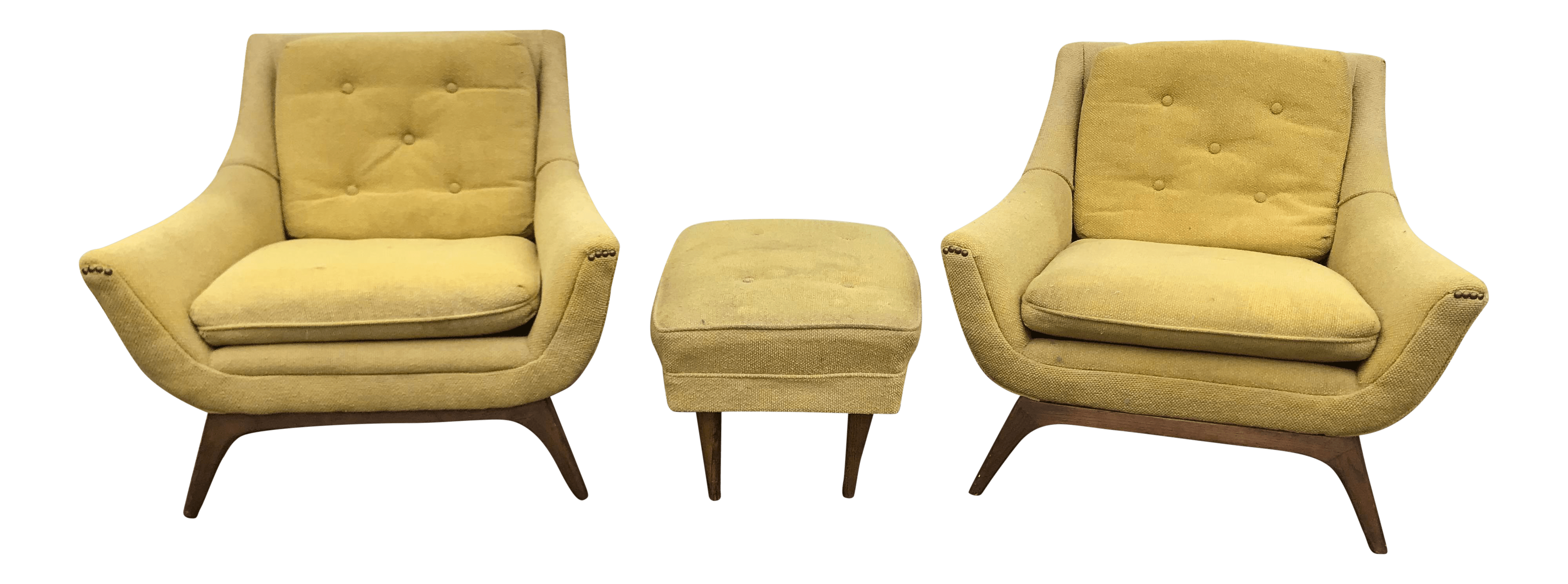 adrian pearsall chair dining covers nz mid century modern chairs a pair ottoman chairish for sale