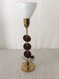 Mid-Century Atomic Rembrandt Lamp | Chairish