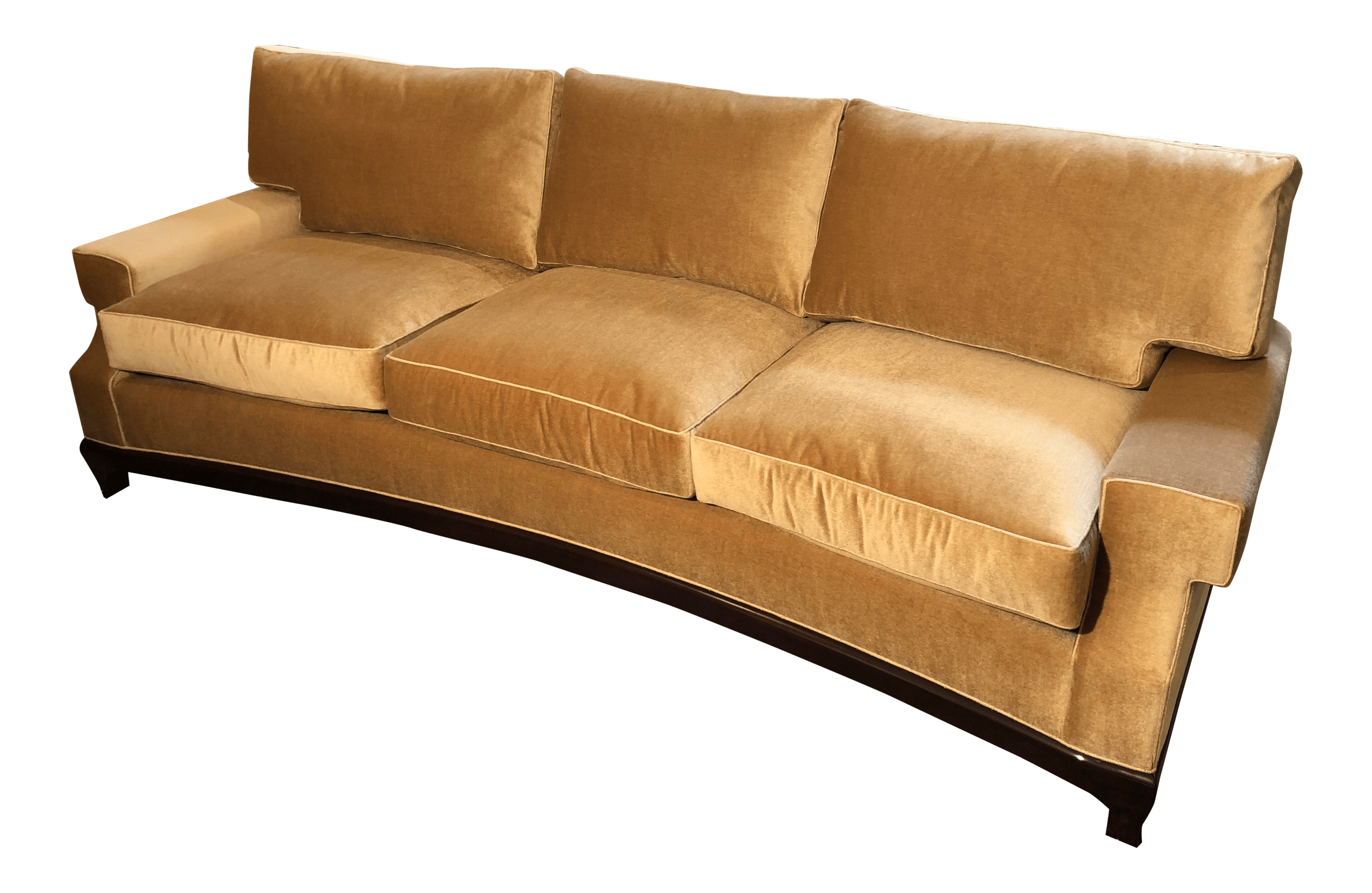 a rudin sofa 2859 costco sectional home and textiles custom no 2519 gold mohair for sale u2gzmdjs