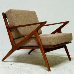 Z Chair Mid Century Dining Chairs Argos Vintage Chairish For Sale Image 7 Of