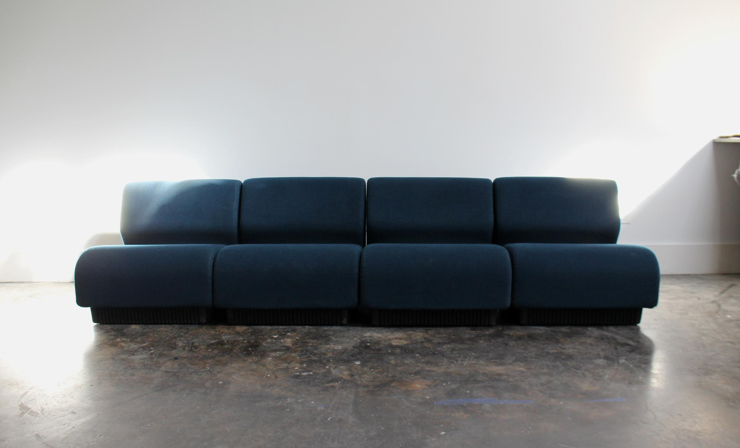 chadwick sofa black living room colour scheme vintage modern modular by don for herman miller chairish set designed in the 1970 s and manufactured