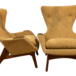 Adrian Pearsall Chair Gold Lycra Covers Gently Used Furniture Up To 60 Off At Chairish 1960s Vintage Wingback Chairs A Pair For Sale