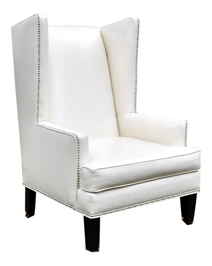 z gallerie chairs dining room white pebble accent chair chairish for sale