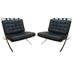 Barcelona Chairs For Sale Vintage Lounge Chair C 1960 Screw Frame A Pair Chairish