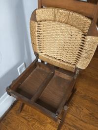 Mid Century Italian Valet Chair   Chairish