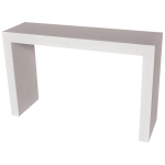 Cast Resin Lynne Tell Console Table White Stone Finish By Zachary A Design Chairish