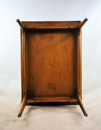Lane Mid-Century Modern Basket Weave Step Tables - A Pair ...
