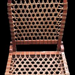 Canoe Chair Papasan Stool Cushions Vintage Tubbs Folding Chairish For Sale