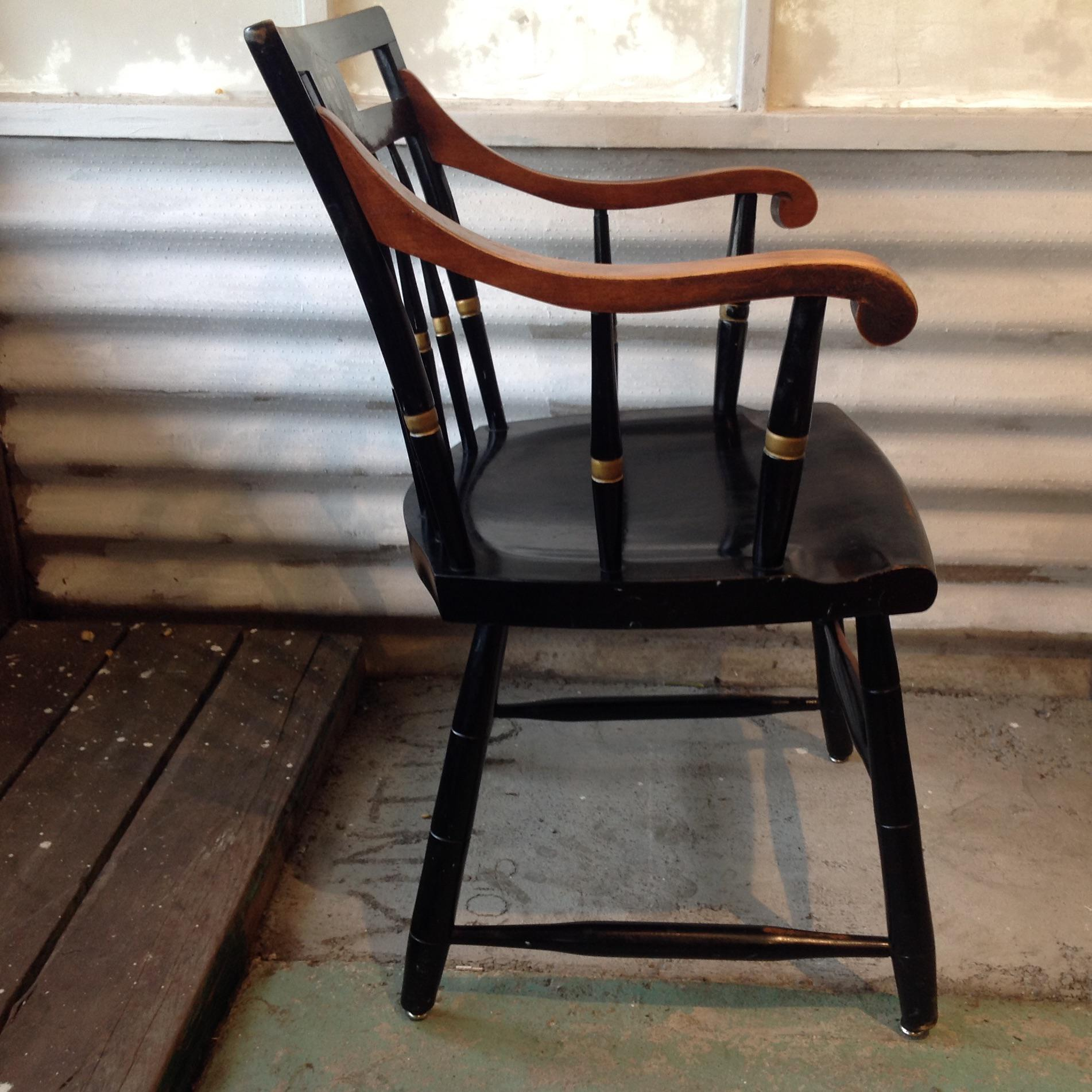 harvard chair for sale oxo seedling high vintage university windsor by nichols stone chairish image