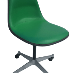 Eames Lounge Chair For Sale Floor Protectors Office Chairs Gently Used Furniture Up To 60 Off At Chairish 1970s Vintage Herman Miller Kelly Green Fiberglass Pscc