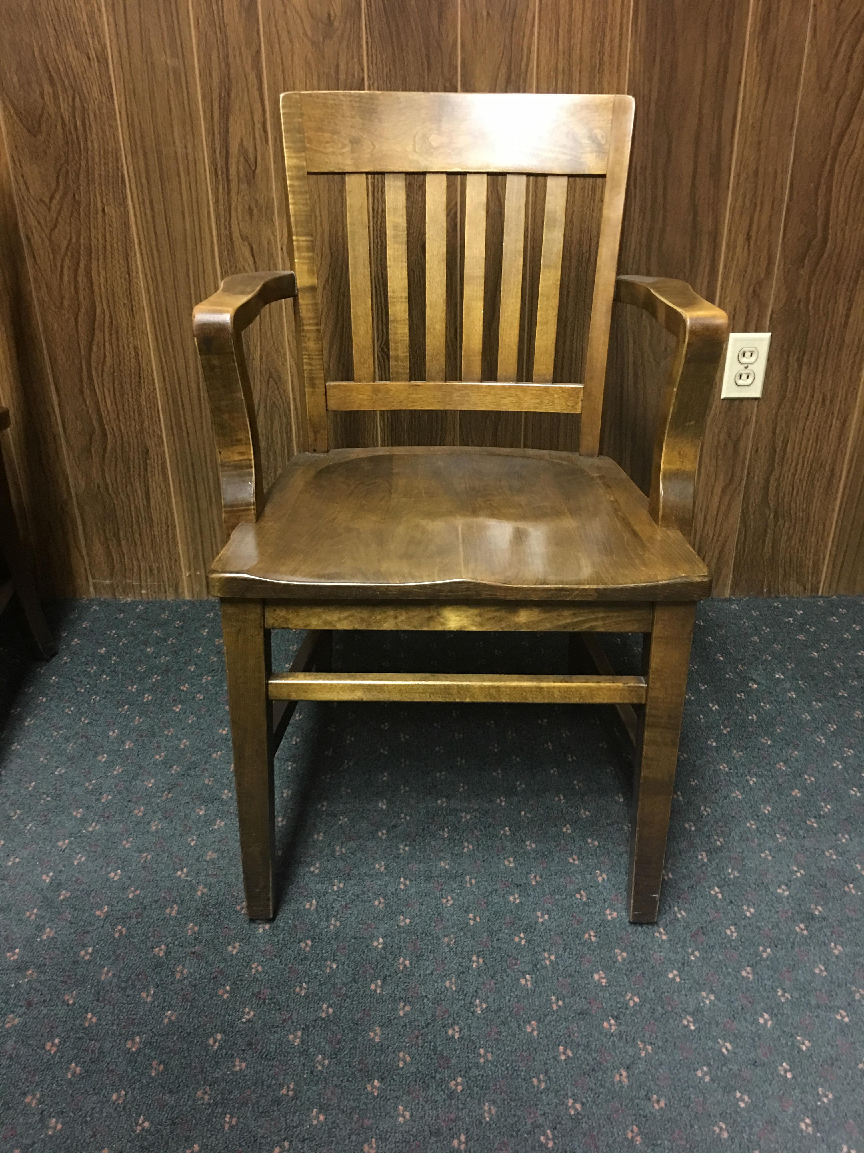 wh gunlocke chair evolution ball w h co vintage oak library office chairs set of 8 for
