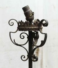 Wrought Iron Lantern Standing Lamp
