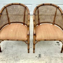 Bamboo Chairs For Sale Eames Molded Wood Side Chair 1970s Vintage Chinoiserie Chic Faux A Pair Chairish Image 13 Of