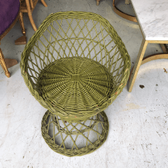 Childs Rattan Chair Covers For Outdoor Furniture Children S Bohemian Green Wicker Peacock Chairish Beautiful Perfect A Child Bedroom Or Playroom Photography Studio