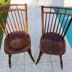 Antique Windsor Chairs Office Depot Hardwood Floor Chair Mat Early 19th Century Sheraton Back Double Railed Two Rare And Beautiful From 1800 S