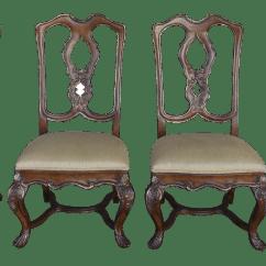 Ferguson Copeland Leather Sofa Todd Snyder Venetian Side Chairs Set Of 4 Chairish