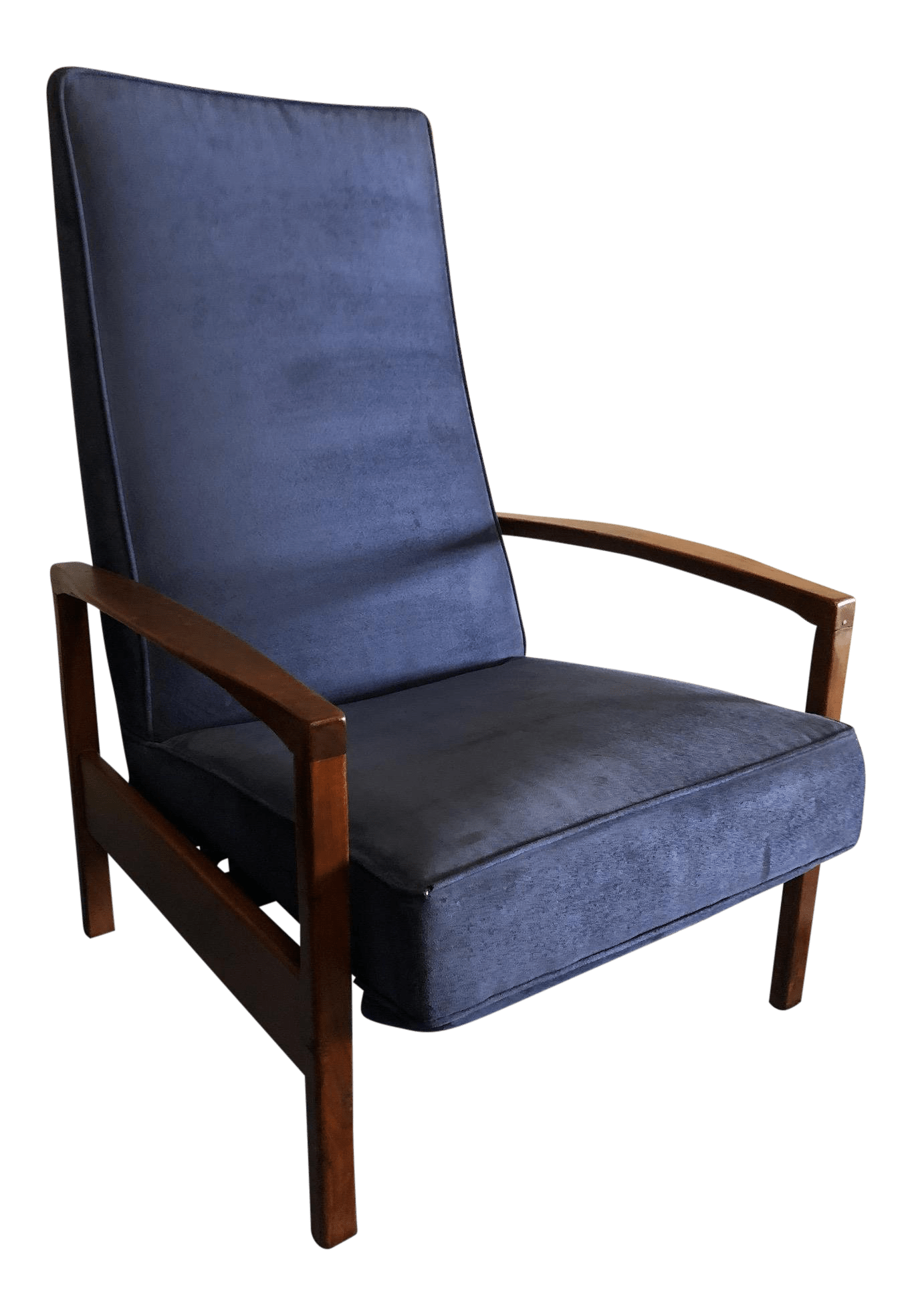 accent chair recliner rv captain seat covers vintage used reclining chairs for sale chairish mid century milo baughman thayer coggin lounge