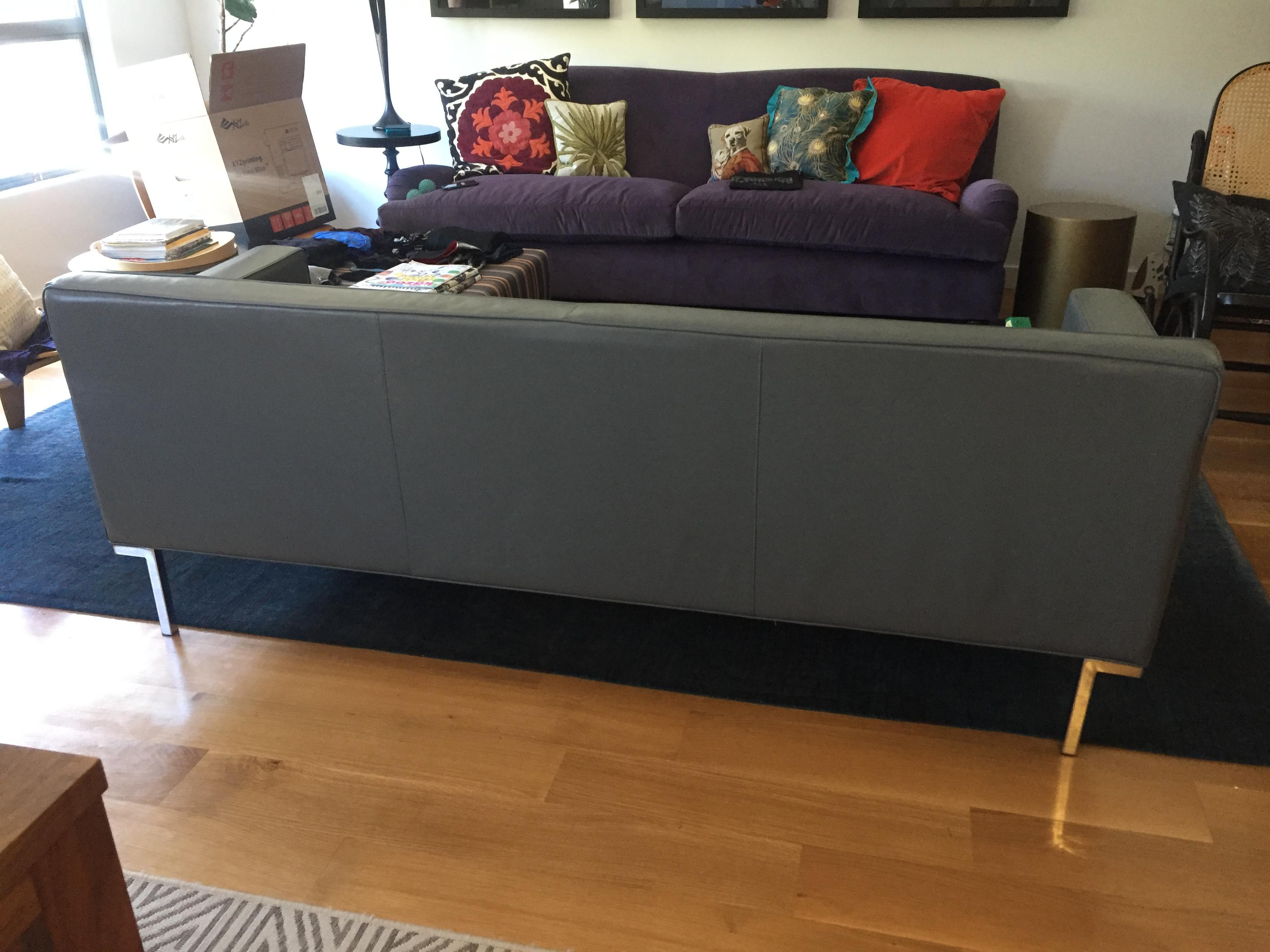 dwr theatre sofa review leather canada ted boerner chairish mid century modern for sale image 3 of 5