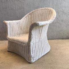 Comfortable Wicker Chairs Joya Rocking Chair Overscale Mid Century Modern Chic Chairish Amazing 1950 S Sculptural And Dramatic Shape Very