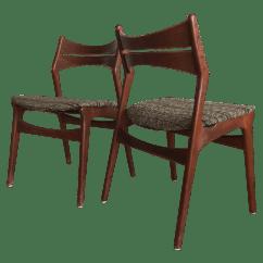 Erik Buck Chairs Gym Ball Chair 1960s Teak Danish Model 310 Dining A Pair Chairish For Sale