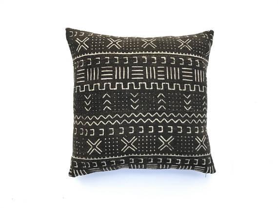 Mudcloth Pillow Cover  20 x 20  Chairish