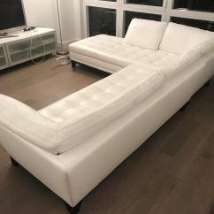 Sectional Sofa Under 2000 Amazon Roche Bobois Rivage White Leather | Chairish