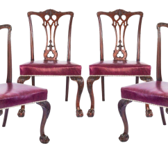 Chippendale Dining Chair Crazy Creek Air Plus Review Vintage Used Chairs Chairish Late 19th Century Antique Gothic Set Of 4