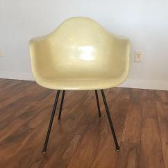 Herman Miller Chairs Seattle Best Infant Beach Chair Eames For Rope Edge First Generation Yellow Shell Sale In