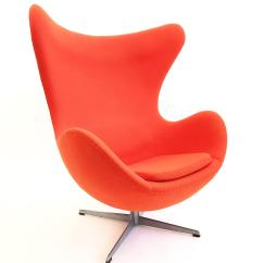 Mid Century Egg Chair Dining Chairs Target Superb The By Arne Jacobsen Decaso Modern For Sale Image 3 Of