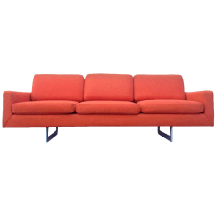 Los Angeles Sofas Where To Buy A Good Sofa Vintage Used Standard Chairish Bright Orange Architectural Mid Century Modern