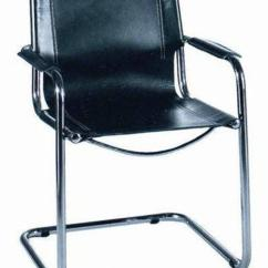 Leather Chrome Chair Desk Without Wheels Uk Mart Stam Style Solid Sling Back Cantelevered And Vintage 1970s Italian Bar Chairs By With The Original Black