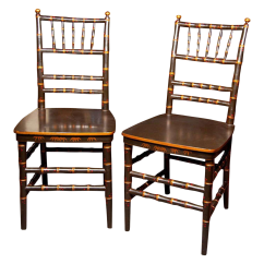 Bamboo Dining Chair Tall For Standing Desk Superb Chinoiserie Faux Chairs A Pair Decaso 0643 Aspect Fit Height 1600 Width