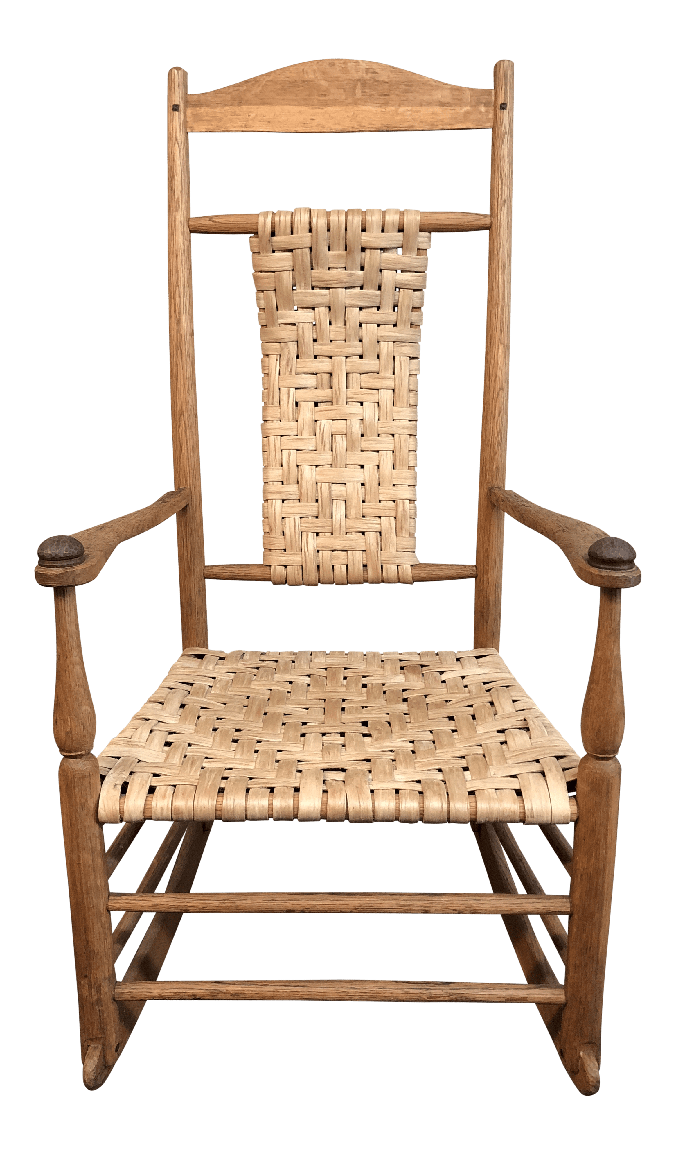 woven rocking chair regalo high vintage rush chairish for sale