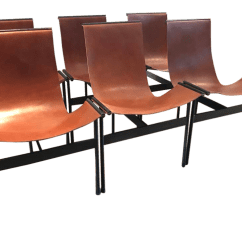 Sling Chairs For Sale Target Dining Room Modern William Katavolos Style Cognac Leather Chairish
