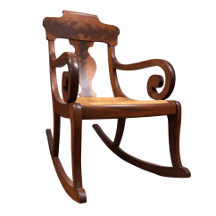 Rocking Chair Antique Styles Espresso Dining Chairs Vintage Used For Sale Chairish