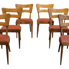Heywood Wakefield Dogbone Chairs Wedding Chair Covers Leicester Mid Century Modern Quotdog Bone Quot Dining