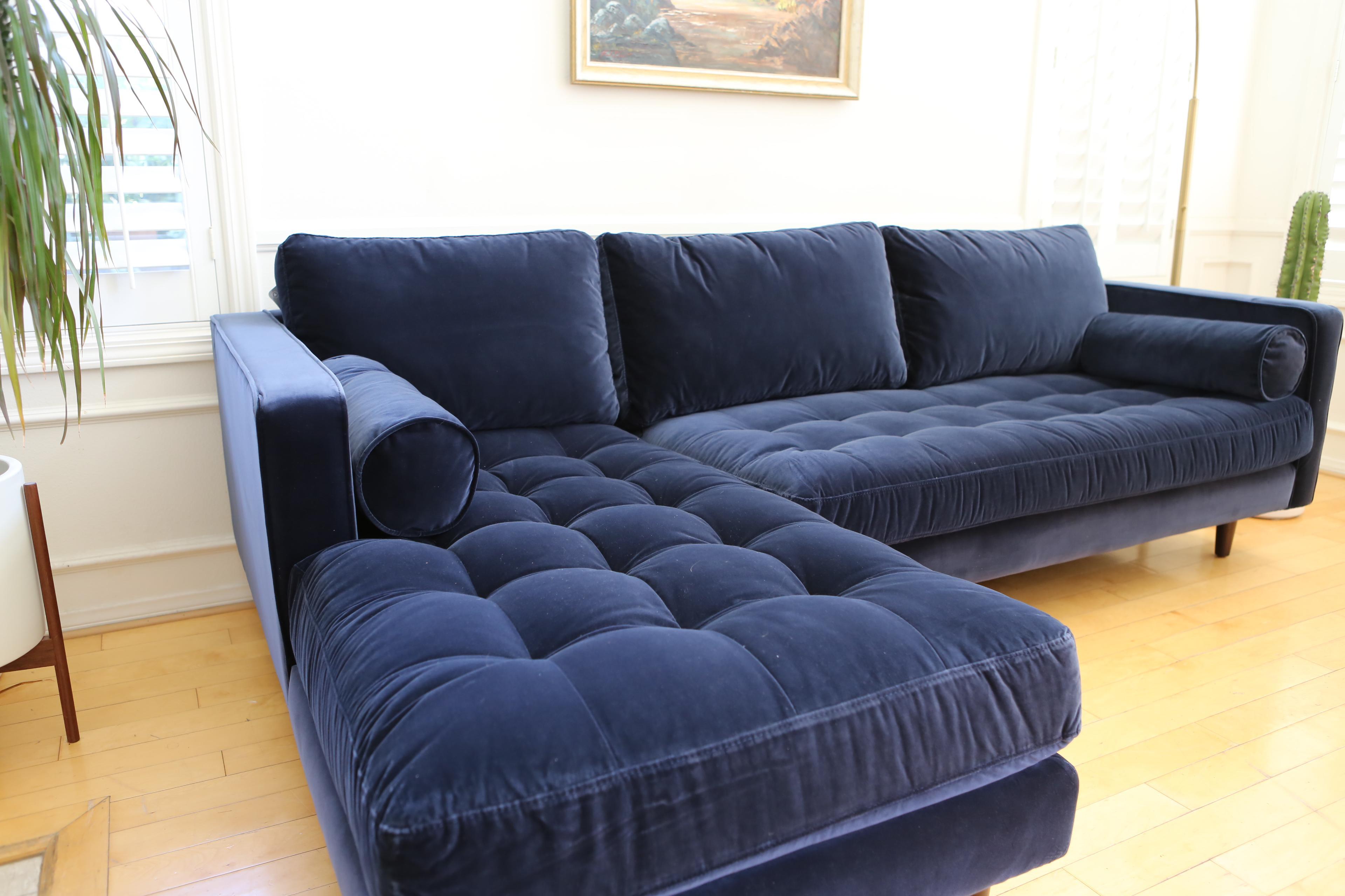 abbie sofa navy bristol second hand left facing sectional design inspiration creative