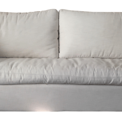 Cloud Track Arm Leather Two Seat Cushion Sofa Sealy Posture Royale Sleeper Mattress Gently Used Restoration Hardware Furniture Up To 50 Off At Chairish Belgian