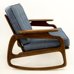 Adrian Pearsall Rocking Chair Dining Table And Chairs Argos Chairish For Sale Image 4 Of 7