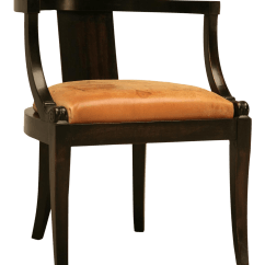 Antique Mahogany Office Chair Pier One Imports Cushions Fine French Ebonized Desk With A Leather Seat Cushion For Sale