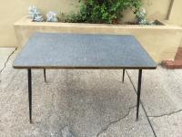 Mid-Century Formica Laminate Table | Chairish