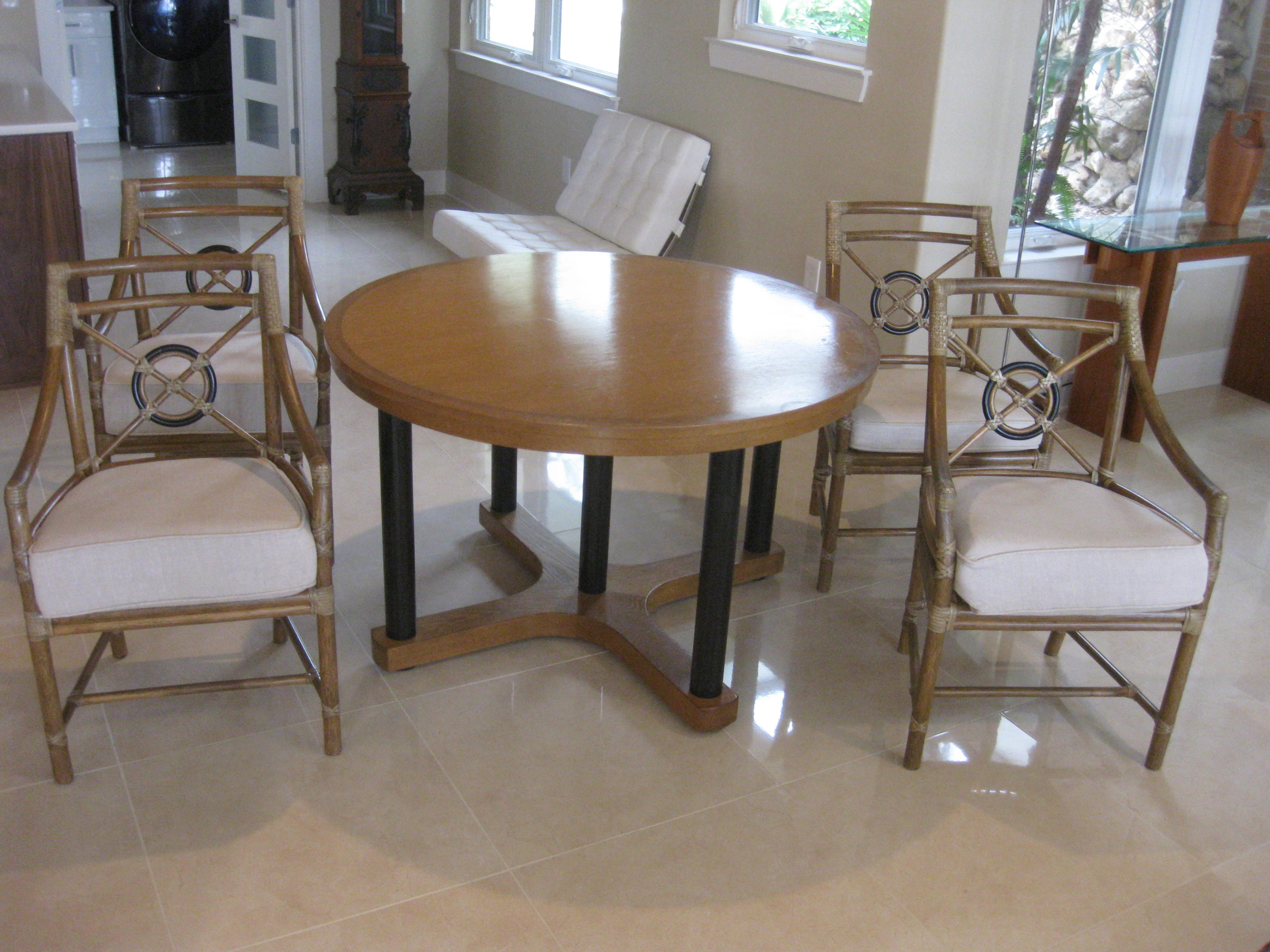 dining chairs set of 4 target refurbished barber table and arhaus mirrored coffee used