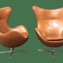 Egg Chairs For Sale Computer Chair No Arms Arne Jacobsen Fritz Hansen A Pair Chairish