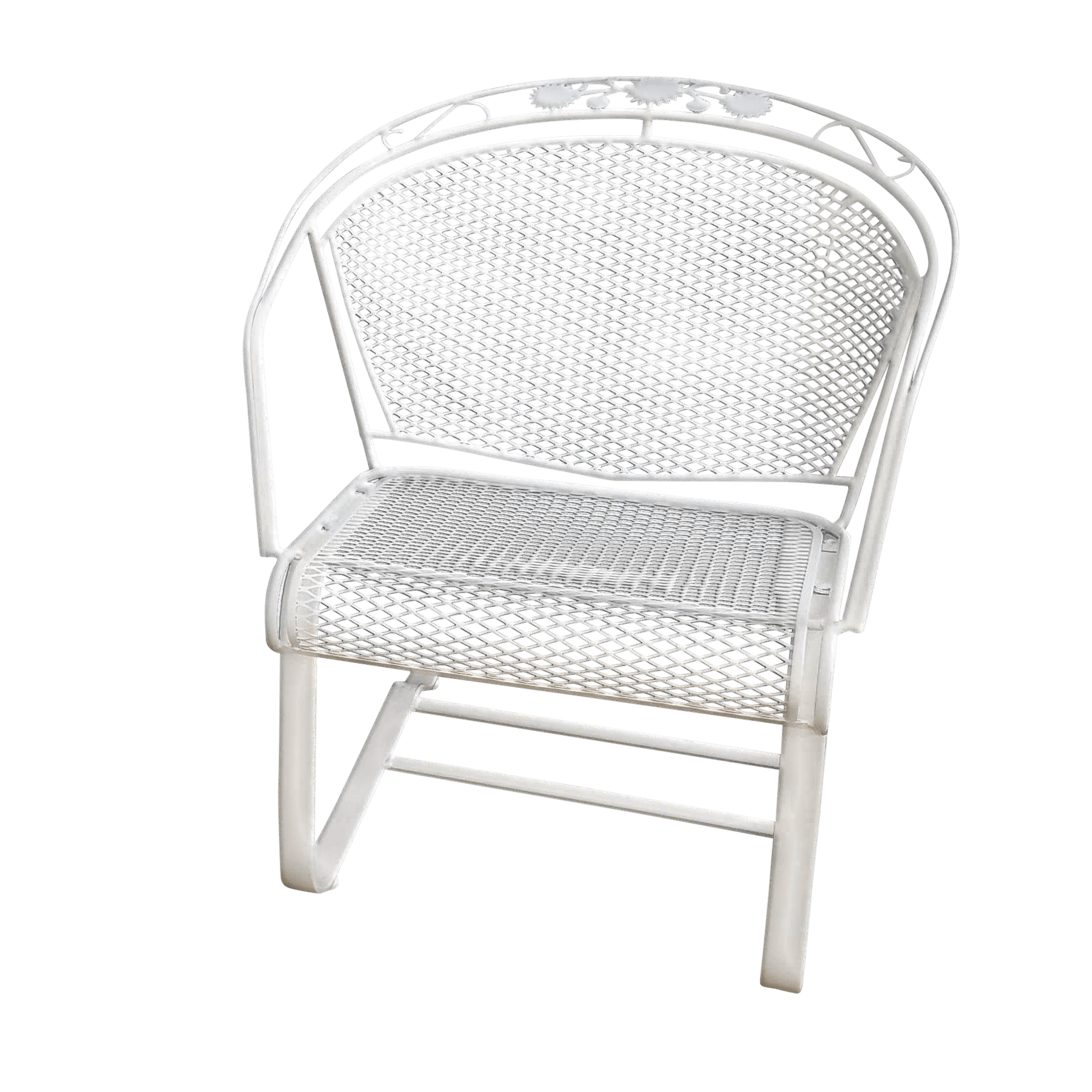 Bounce Chair Vintage Woodard Arnold Palmer Collection Wrought Iron Bounce Patio Chair