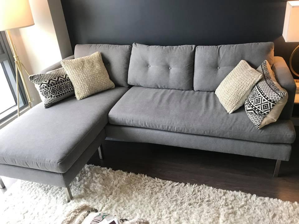 jackson sofa west elm newcastle table modern sectional with reversible chaise chairish the stylist and versatile is perfect blend of function style