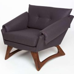 Adrian Pearsall Lounge Chair Fisher Price Rainforest High Recall Exceptional 1960 S Vintage Decaso For Craft Associates With Walnut Base And New Wool Upholstery