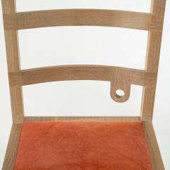 Ladder Back Chair Osha Requirements Superior Phaedo Washed White Oak Monolith Ladderback Decaso Rustic For Sale Image 3 Of 5
