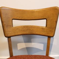 Heywood Wakefield Dogbone Chairs Spandex Chair Cover Rental Mid Century Modern Dog Bone Dining Set Birch